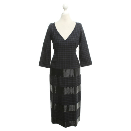 Marc Jacobs Checked dress with pearls