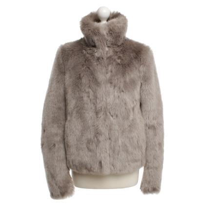 Patrizia Pepe giacca di pelliccia Faux