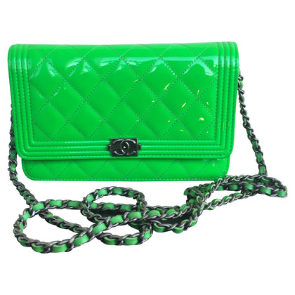 """Chanel """"Boy Bag"""" Patent Leather"""