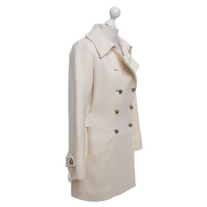 Chloé Coat in cream white