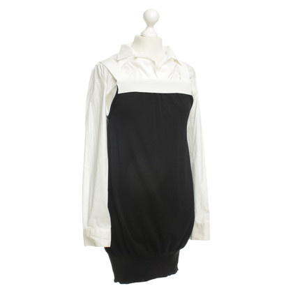 Moschino Blouses dress in black/white
