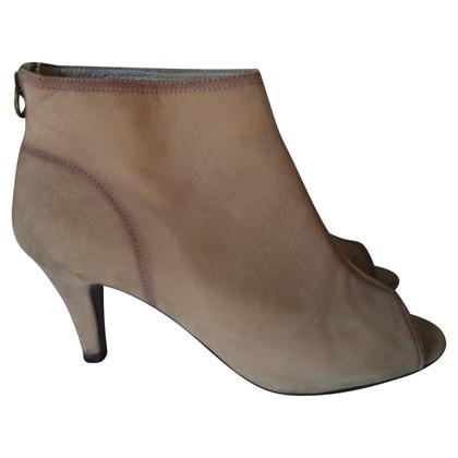 Ash Peep Toe Boots