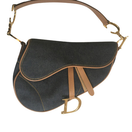 Christian Dior Saddle Bag Denim