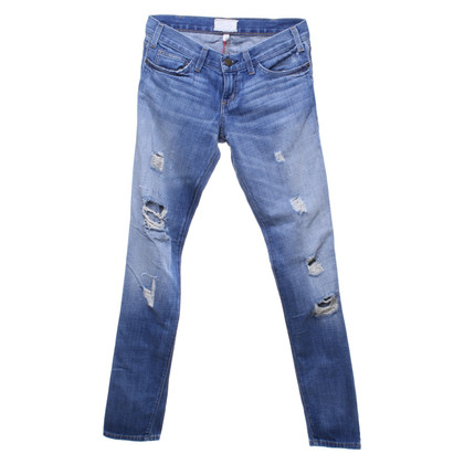 Current Elliott Jeans in destroyed look