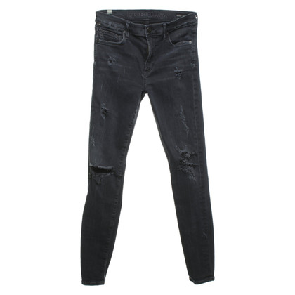 Citizens of Humanity Jeans en gris foncé