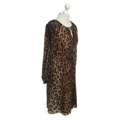 Altuzarra Silk dress with animal print