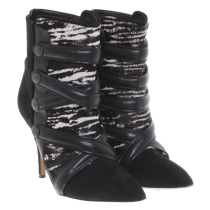 Isabel Marant Ankle boots with fur trim