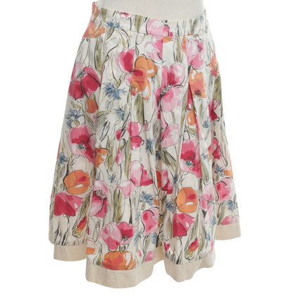 Blumarine skirt with a floral pattern