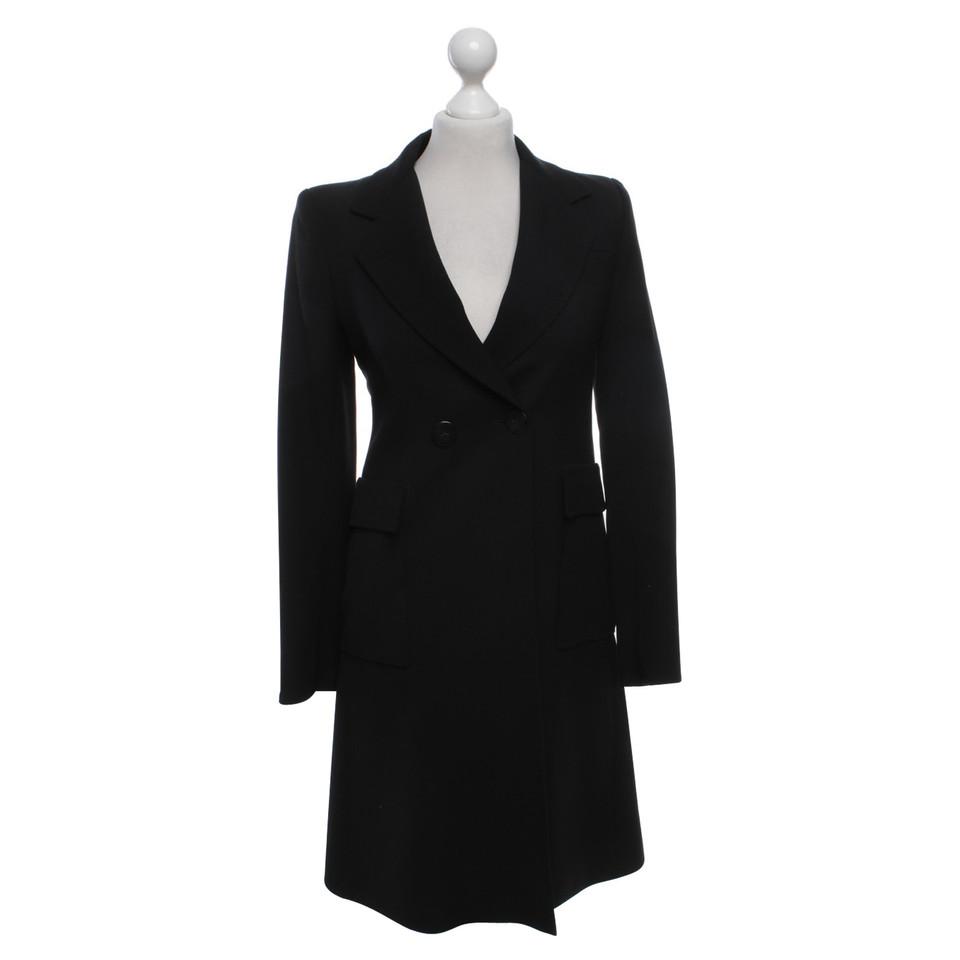 Balenciaga Mantel in Schwarz