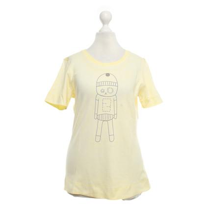 Fendi T-shirt in yellow