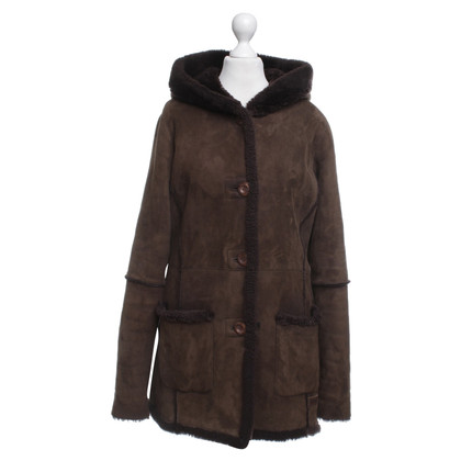 Emu Australia Coat with faux fur