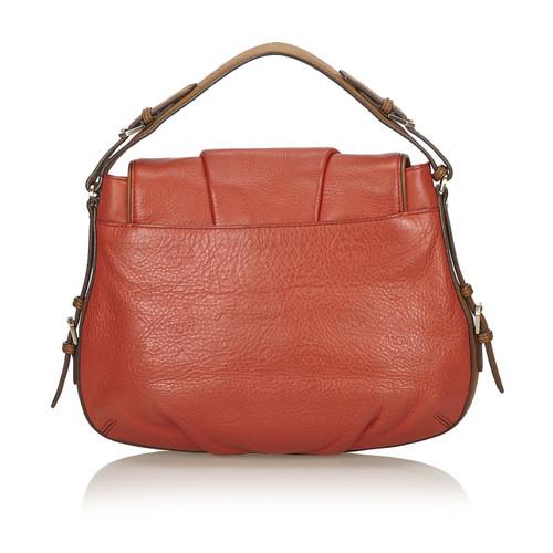 MCM Handtasche in Orange Orange