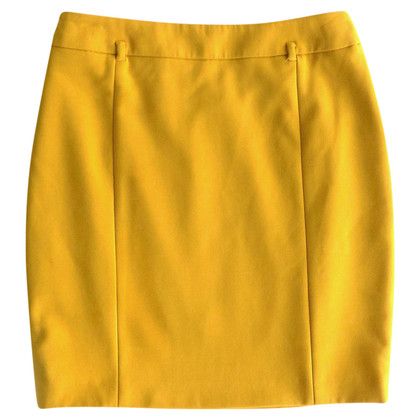Max Mara Mini skirt in mustard yellow