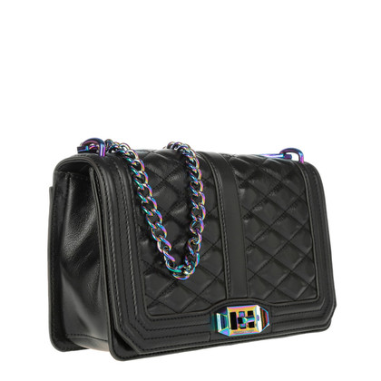 "Rebecca Minkoff ""Love cross body black/oil slick"""