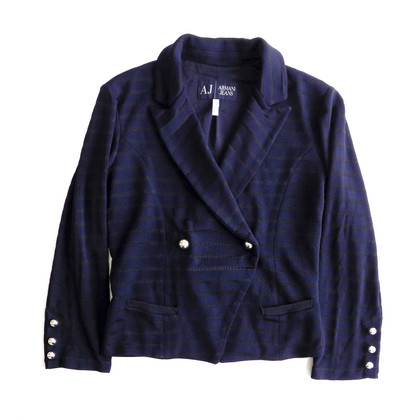 Armani Jeans Blue blazer with statement buttons