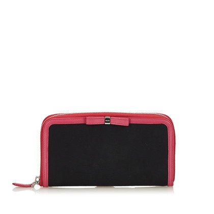 Prada Wallet with bow tie application