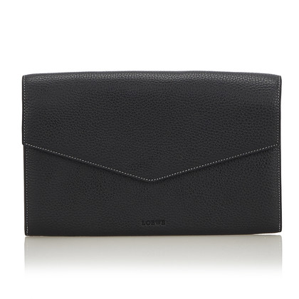 Loewe clutch made of leather