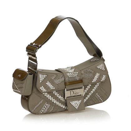 Christian Dior Shoulder bag with rhinestone trim