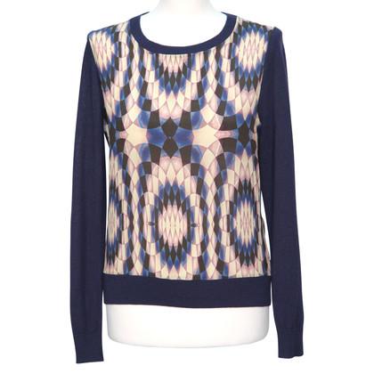 Reiss Pullover in maglia blu scuro