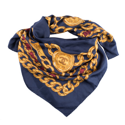 Chanel Silk scarf with print