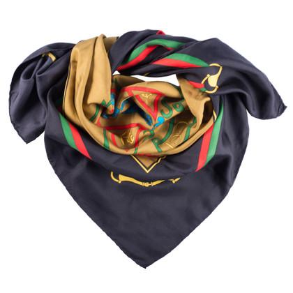 Gucci Sciarpa di seta con stampa