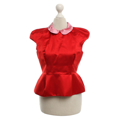 Miu Miu top in red