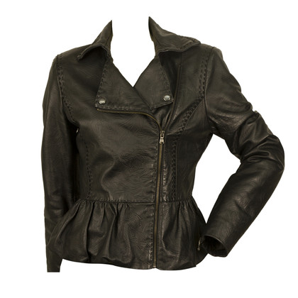 Roberto Cavalli Leather jacket in black