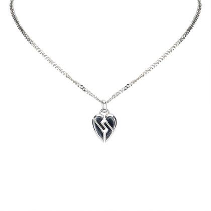 Gucci Zilverkleurige ketting met hanger