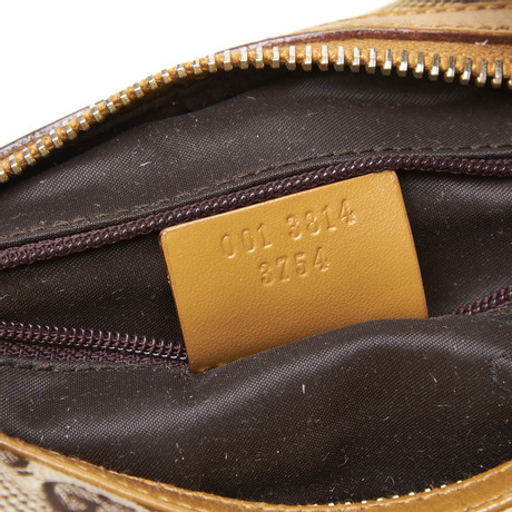 Gucci Schultertasche mit Guccissima-Muster Beige Offizielle Seite Günstiger Preis xOOdaF