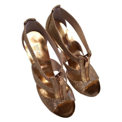 Michael Kors Gouden sandalen