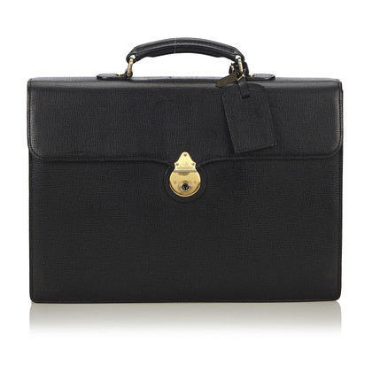Burberry Leather Business Bag