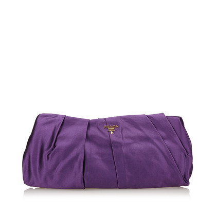 Prada clutch in violet