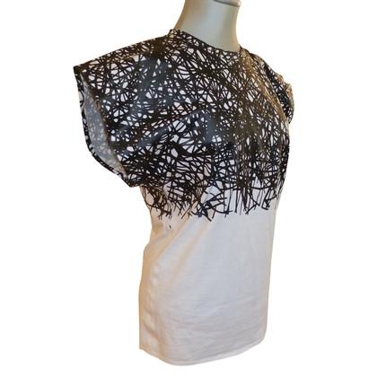 Balenciaga Camicia in bianco / nero