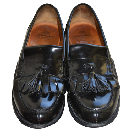 Church's Noirs mocassins