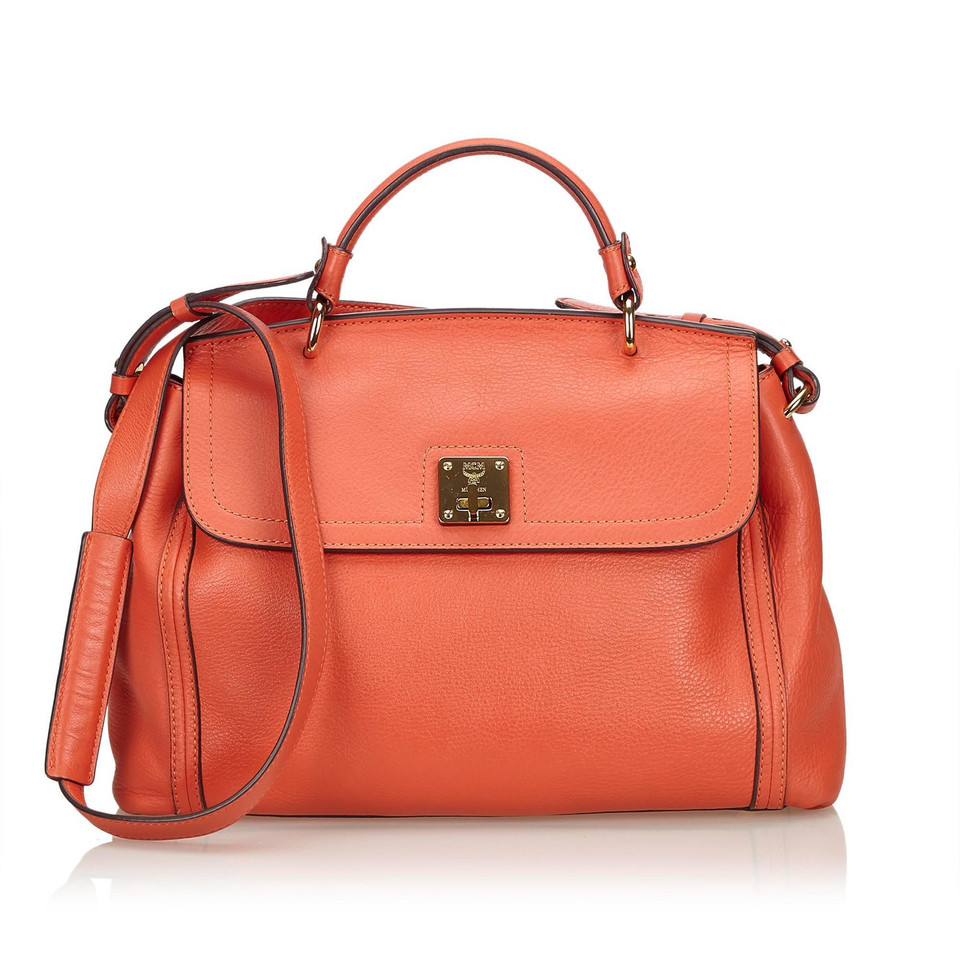 MCM Shoulder bag in orange