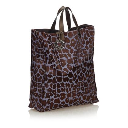 Fendi Handtasche mit Leopardenmuster