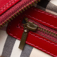 Burberry Handbag in red