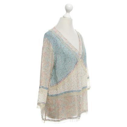 Marina Rinaldi Blouse with pattern