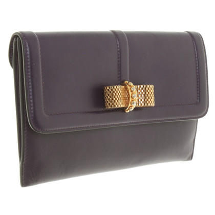 Christian Louboutin clutch / wallet in violet