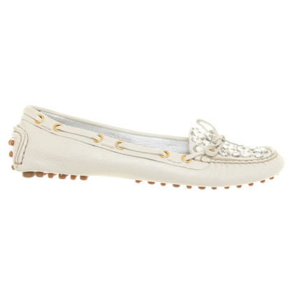 Car Shoe Loafers with semi-precious stones