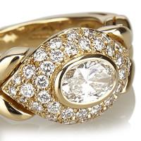 Bulgari 18K yellow gold ring