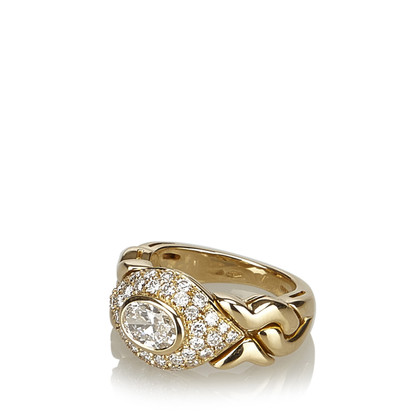 Bulgari 18K geelgouden ring