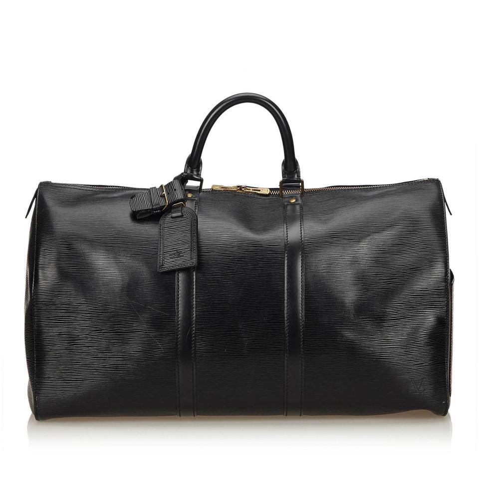 """Louis Vuitton """"Keepall 50 Epi Leather"""""""