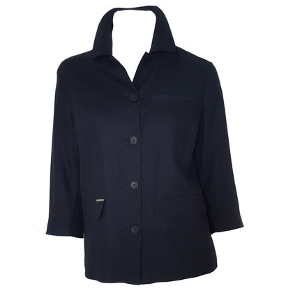 Valentino Linen jacket in blue