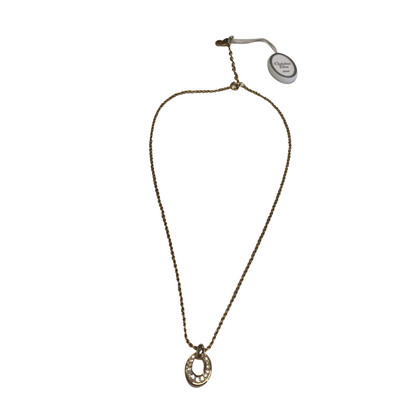 Christian Dior Chain with Rhinestone pendant