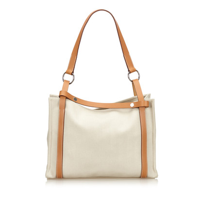 "Hermès ""Cabalicol Canvas Tote Bag"""