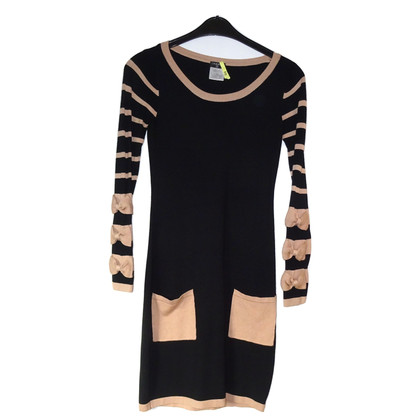 Chanel Wool dress in bicolour