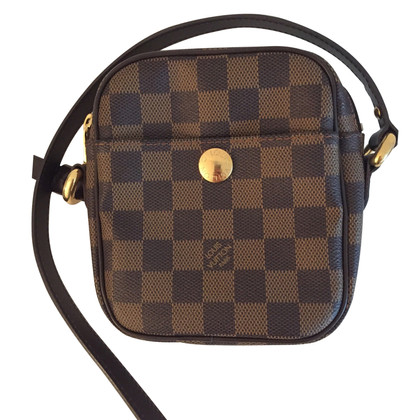 Louis Vuitton Schoudertas van Damier Ebene Canvas