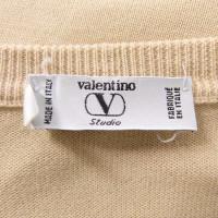Valentino Cardigan avec des insertions au crochet
