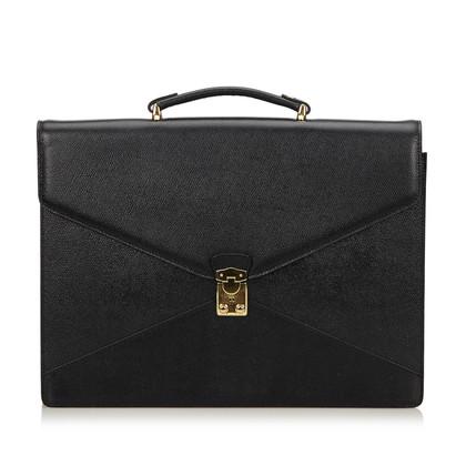 Lancel Leather Briefcase